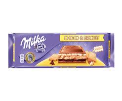 MILKA 300g Choco & Biscuit Chocolate